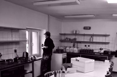 Kuchyň, první pohled