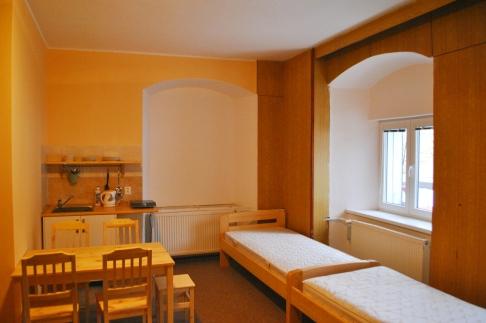 Pokoj č. 1, postele