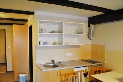 Pokoj č. 8, kuchyňka